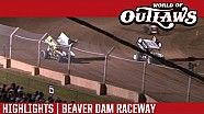 World of Outlaws Craftsman Sprint Cars Beaver Dam Raceway June 25th, 2016 | HIGHLIGHTS