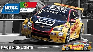 Streetrace win for Coronel at Vila Real, WTCC Portugal 2016