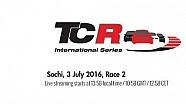 Гонка 2 TCR в Сочи