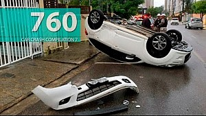 Car Crash Compilation # 760 - June 2016  (English Subtitles)