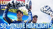London ePrix 2016 (Sunday: 50 Minute Highlights) - Formula E