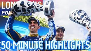 London ePrix 2016 (Sunday: 50 Minute Highlights) - Formula E