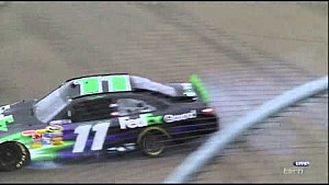 Denny Hamlin - Watkins Glen 2011 Crash