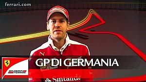 Il GP di Germania con Sebastian Vettel - Scuderia Ferrari 2016