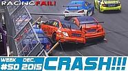 Racing and Rally Crash Compilation Week 50 December 2015