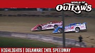 World of Outlaws Craftsman Late Models Delaware Intl Speedway August 11th, 2016 | HIGHLIGHTS