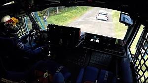 VW Polo R WRC vs. KAMAZ Truck - Onboard Perspective :-)