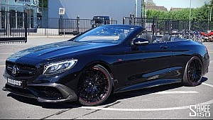 Brabus 850 S Class Cabriolet... Because You Can!