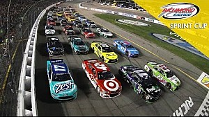 Drivers make four-wide salute to thank fans