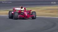 法拉利35年各款F1赛车齐聚霍根海姆赛道