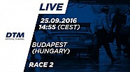 LIVE: DTM Budapest 2016 - Race 2