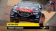 Interview exclusive de Timmy Hansen (Peugeot-Hansen)