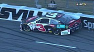 Stenhouse, Dillon wheel hop and wreck in Martinsville qualifying