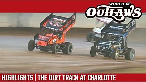 World of Outlaws Craftsman Sprint Cars The Dirt Track at Charlotte October 29th, 2016 | Hightlitghts
