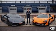 Lamborghini Huracan vs. McLaren 570S