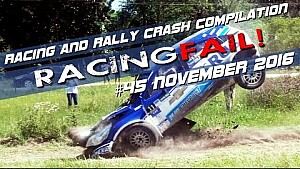 Racing and Rally Crash Compilation Week 45 November 2016