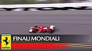Les Ferrari F1 sur le banking de Daytona pour la première fois