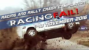 Racing and Rally Crash Compilation Week 48 November 2016