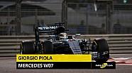 Giorgio Piola présente les secrets de la Mercedes F1 W07