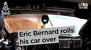 Dakar 2017: Eric Bernard slaat over de kop