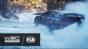 Rallye Monte-Carlo 2017: Icy corner on SS08