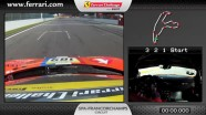 On-board of the Ferrari 458 Challenge - Rory Bertram in Spa-Francorchamps
