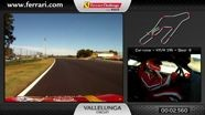 On-board of the Ferrari 458 Challenge: Emilio Rossi in Vallelunga