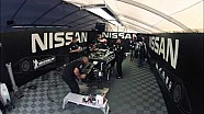 Nissan DeltaWing - Road Atlanta Repair Time Lapse
