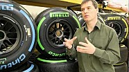 F1 tyres explained: Differences between Pirelli's 2012 and 2013 compounds