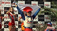 Podium Finishers on the 2013 Toyota Grand Prix of Long Beach