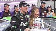 Denny Hamlin wins Coors Light Pole | Bristol (2013)