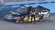 NASCAR Darrell Wallace Jr. runs out on track after wreck in Phoenix