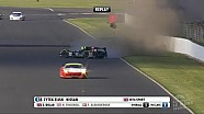 Simon Dolan's massive crash, ELMS at Silverstone 4h 2014