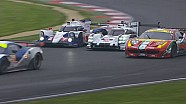 Race live battle between Porsche and Toyota