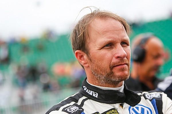 World Rallycross Fracture de la clavicule pour Petter Solberg