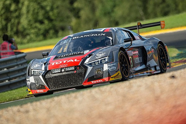 Team WRT to Barcelona to chase the Blancpain GT Series Teams' title