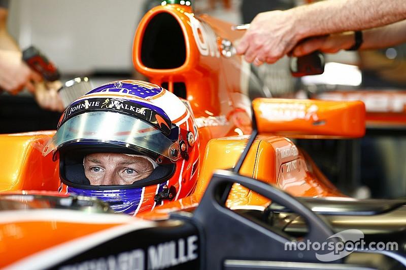 """Button cree que probar el coche de 2017 en Bahrein habría sido """"inútil"""""""