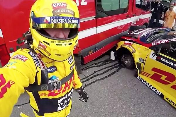 «Машина была как банан». Коронель об аварии с перегрузкой 25g
