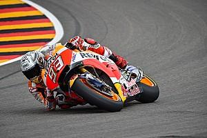 MotoGP Отчет о тренировке Маркес стал быстрейшим в третьей тренировке на «Заксенринге»