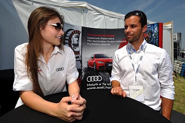 Egyéb autósport BRÉKING A Forma-1-es Red Bull magyar mérnökével is találkozott Keszthelyi Vivien Örkényben