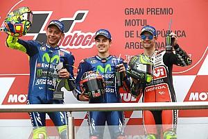 MotoGP Crónica de Carrera Viñales se queda sin rival y se impone en Argentina
