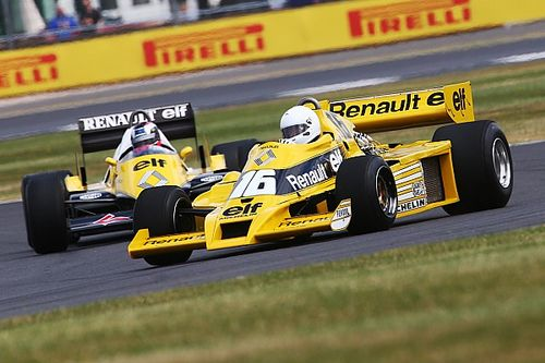 Gallery: Renault F1's 40th anniversary celebrations