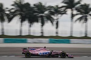 F1 Noticias de última hora Pérez decepcionado por el poco tiempo en pista en Malasia