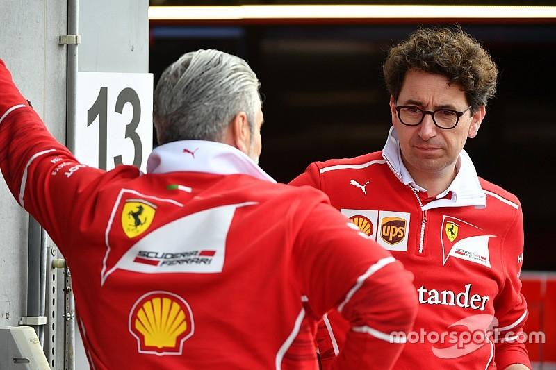 Ferrari se carga a Arrivabene y Binotto le sustituye