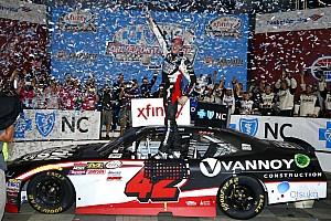 NASCAR XFINITY Reporte de la carrera Alex Bowman logra en Charlotte su primera victoria en Xfinity