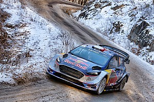 WRC Stage report Monte Carlo WRC: Neuville suspension damage hands lead to Ogier