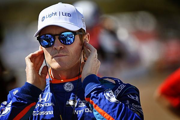 """IndyCar 速報ニュース 【インディカー】勝利を失ったディクソン、""""謎の""""コーションに憤慨"""