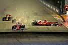 Verstappen culpa Vettel por acidente na largada