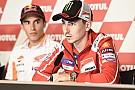 """MotoGP Lorenzo: """"Si yo no puedo ser campeón, me encantaría que lo fuera Dovizioso"""""""