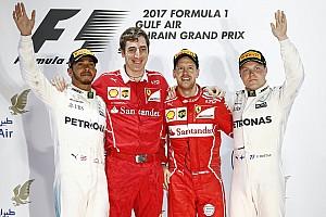 """F1 比赛报告 巴林大奖赛:维特尔再下一城,汉密尔顿""""因小失大"""""""